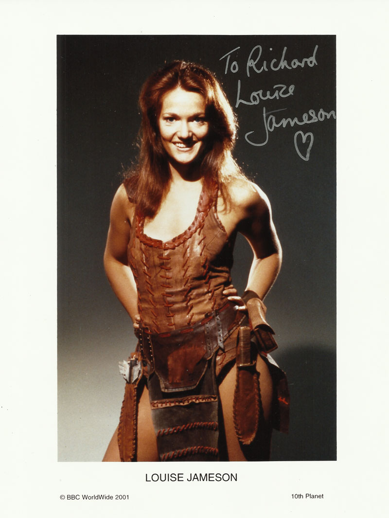 louise jameson dr who character